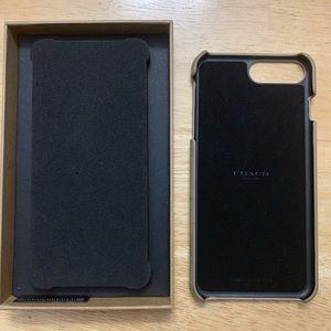 Authentic Coach Case for iPhone 7/8 Plus